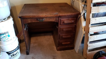 Value of an Old Desk from the Derby Desk Company