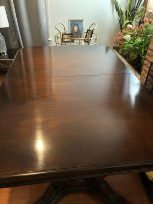 Value of an Ardsleigh Ludwig and Baumann Dining Set - table top