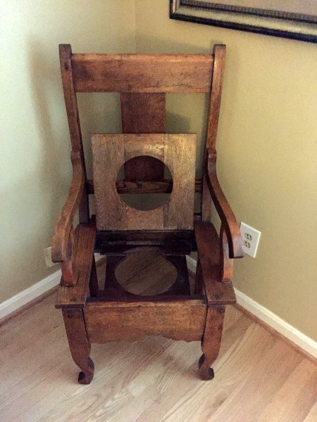 Value of an Antique/Vintage Potty Chair