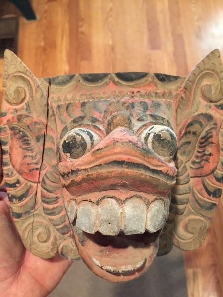 Wooden Mask Identification