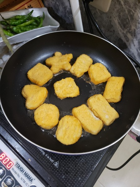 cooking Chicken Nuggets