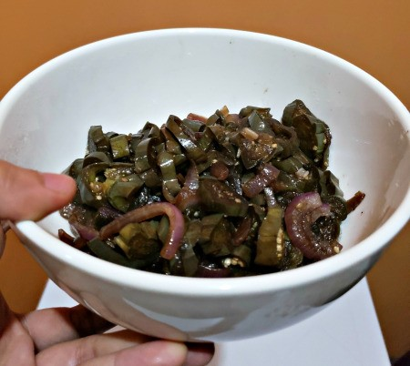 Soy Sauce Eggplant in bowl