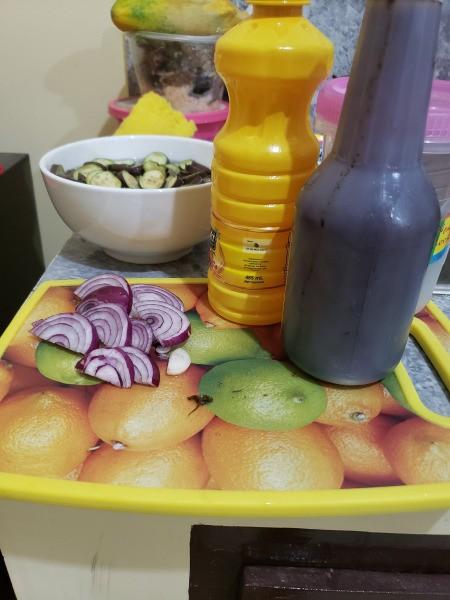 Eggplant Pepper Soy Sauce