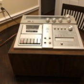 Value of a Sylvania Audio Control Module - module on a table