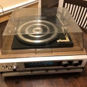 Value of a Sylvania Stereo Turntable and Speakers