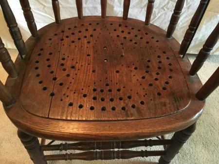 Identifying an Antique Chair