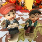 Identifying Vintage Figurines - two ceramic figurines