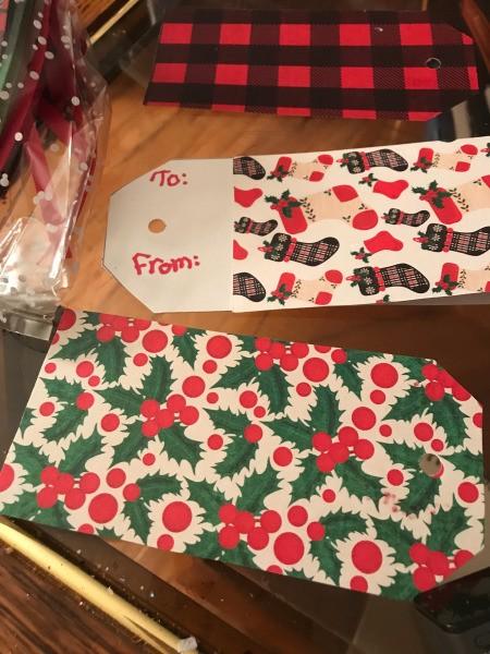 Handmade Gift Tags - tags