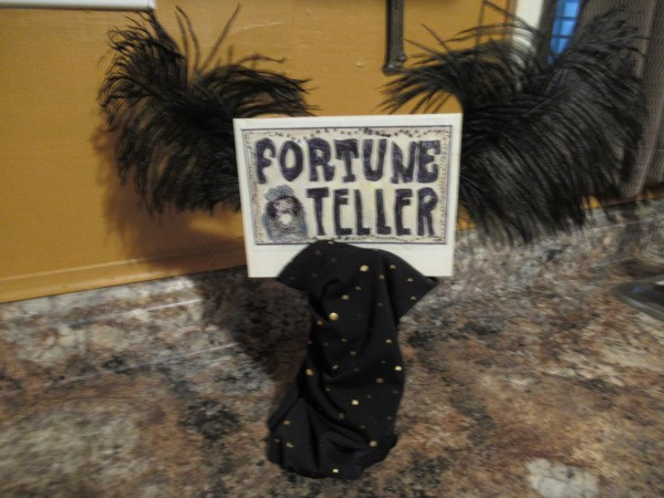 Fortune Teller Costume - sign