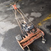 What King O'lawn Mower Is This? - gas powered reel mower
