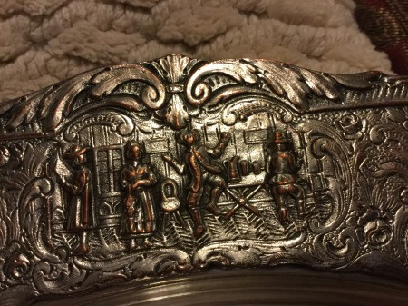 Identifying and Value of a Silver Tray