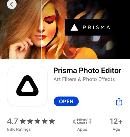 Turn a Photo Into a Colouring Page - Prisma app