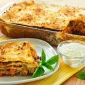 Tray of Lasagna
