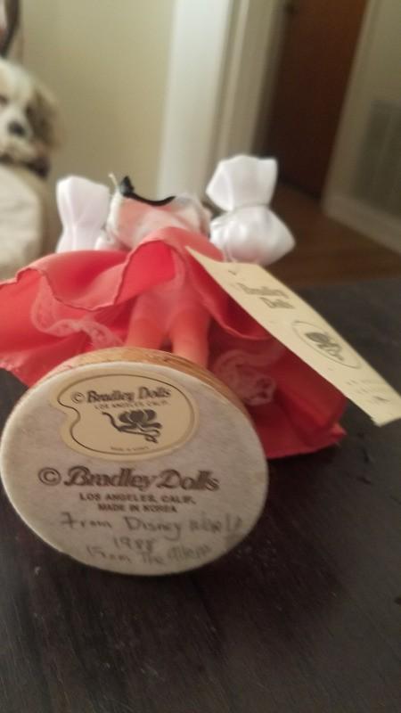 Value of a Bradly Porcelain Doll