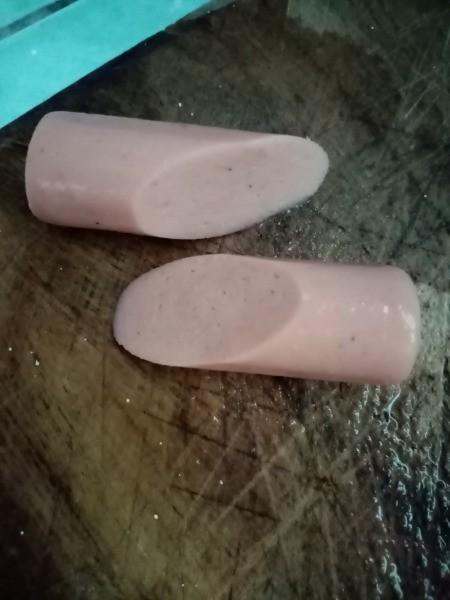 cutting Sausages