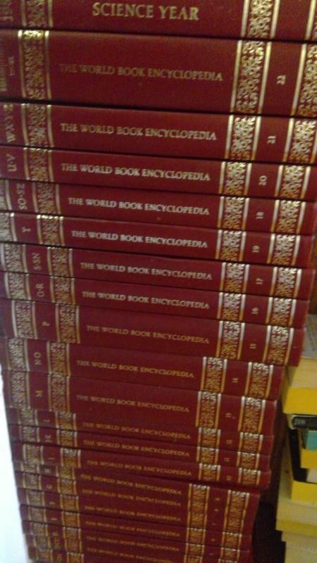 Value of a Set of World Book Encyclopedias