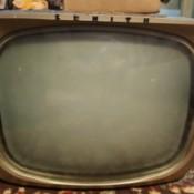 Value of a Vintage Zenith TV - bug eye TV