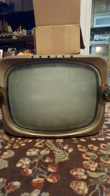 Value of a Vintage Zenith TV