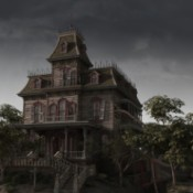 Haunted house on the hill.