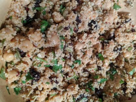 Seasoned Couscous  in bowl