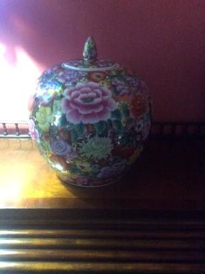 Identifying a Ginger Jar - pretty floral ginger jar