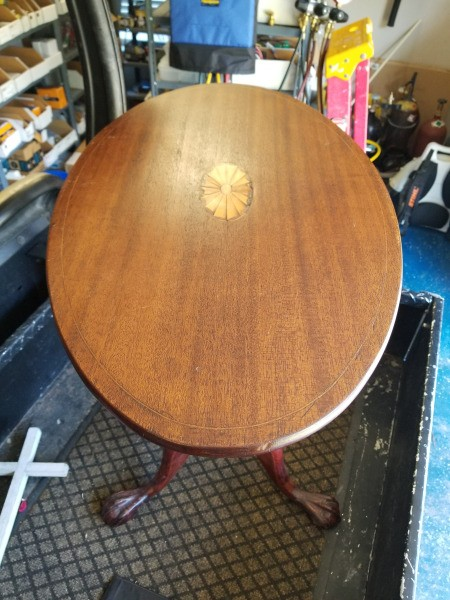 Value of a Vintage Flip Top Table