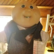 Value of Collectible Dolls - Cabbage Patch style doll