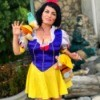 Snow White and the Undead Dwarves - Snow White being attacked by zombie dwarves