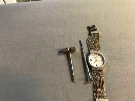 Shortening a Watch Band with Links
