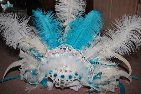 Ice Phoenix Costumes - headdress