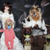 Labyrinth Movie Costumes - finished scene