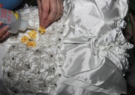Labyrinth Movie Costumes - Sarah's dress