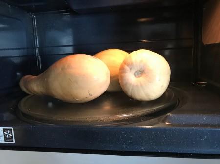 Butternut Squash in microwave