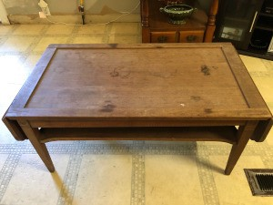 Value of a Mersman Coffee Table - table with leaves down