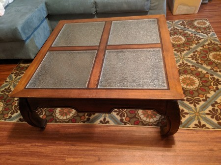 Value of an Opium Leg Coffee Table