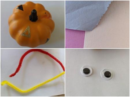 Turkey Pumpkin - supplies