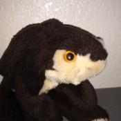 Identifying a Dan Dee Plush Toy - black and white stuffy