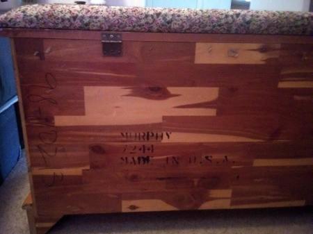 Value of a Murphy 7244 Pillow Top Cedar Chest