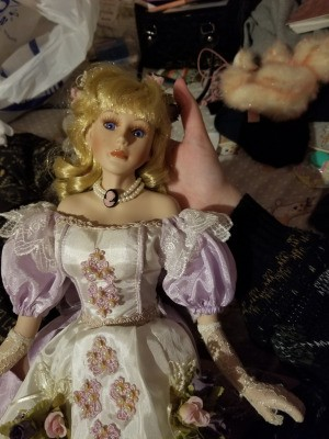 Identifying a Porcelain Doll - closeup of a doll