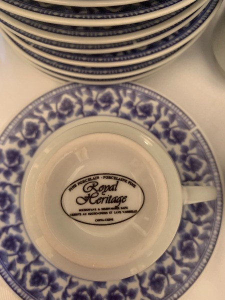 Value of Tea Cups and Saucers