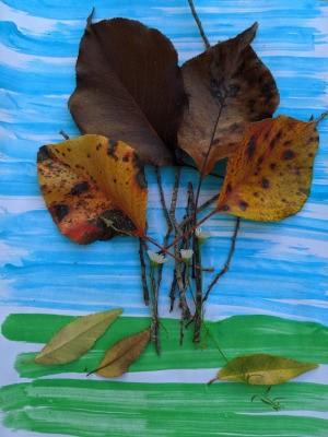Bringing Fall Indoors Artwork - finished artwork