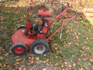 Identifying an Old Mower - old gas mower