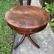 Information on a Brandt Drum Table - old drum table