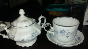 Value of Johann Haviland China - sugar bowl and tea cup and saucer