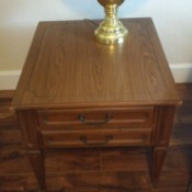 Value of a Mersman 35-62 End Table