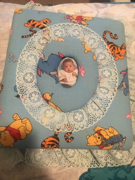Making a Quilted Photo Album Cover - Winnie the Pooh album cover