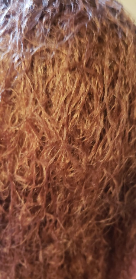 Hair Damaged by a Perm - coarse looking permed hair