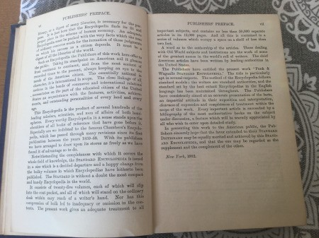 Value of 1912 Funk and Wagnalls Encyclopedia Set