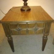 Value of a Mersman Rectangular Table - end table with one drawer