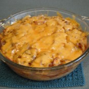 finished Cheesy Potatoes with Onions